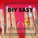 Easy and Pretty DIY Rings - Video Tutorial