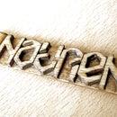 Ambigram keychain
