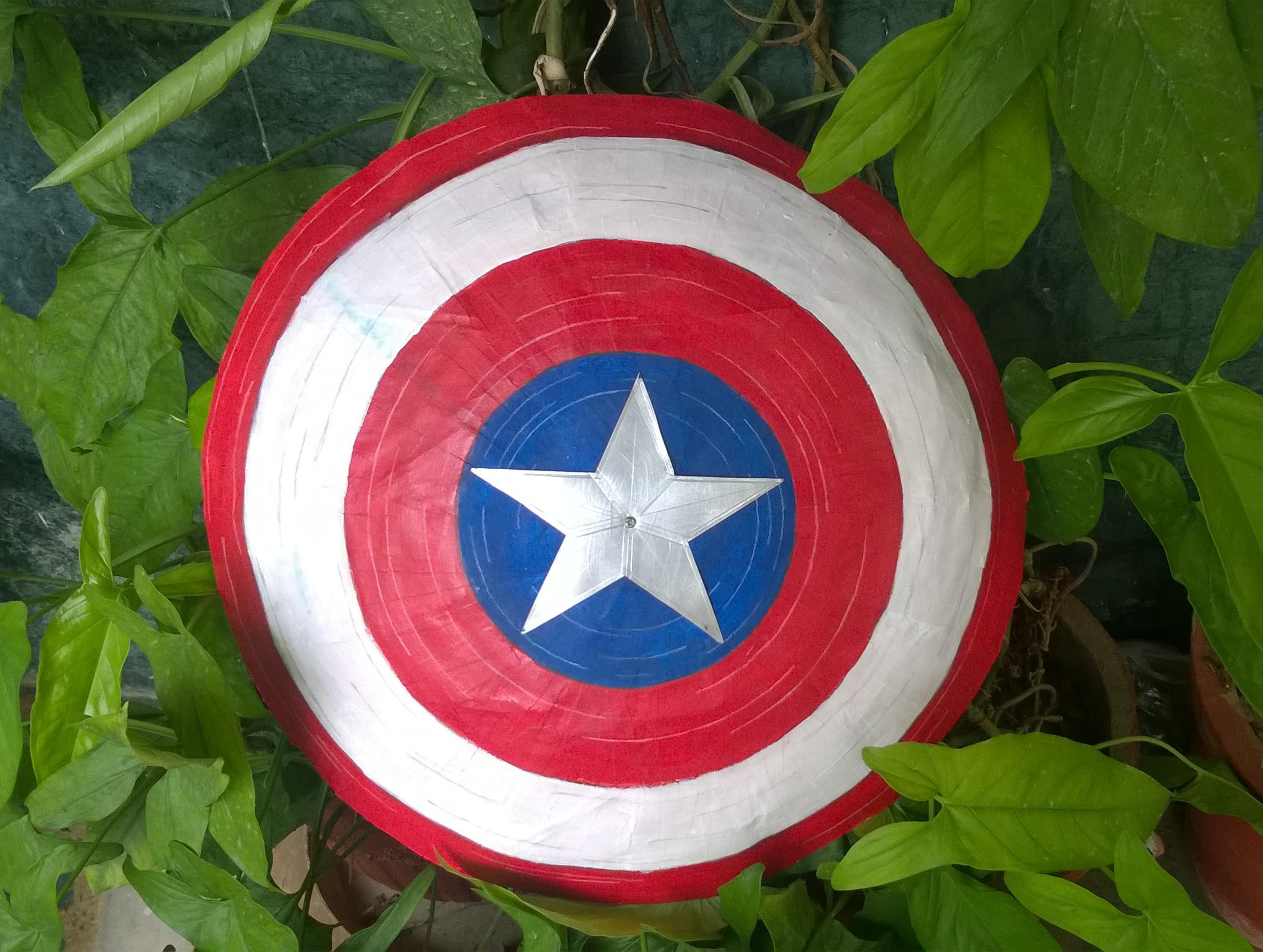 Picture of DIY Captain America's Shield