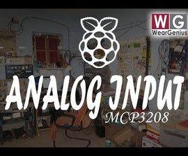 Reading Analog inputs Raspberry Pi