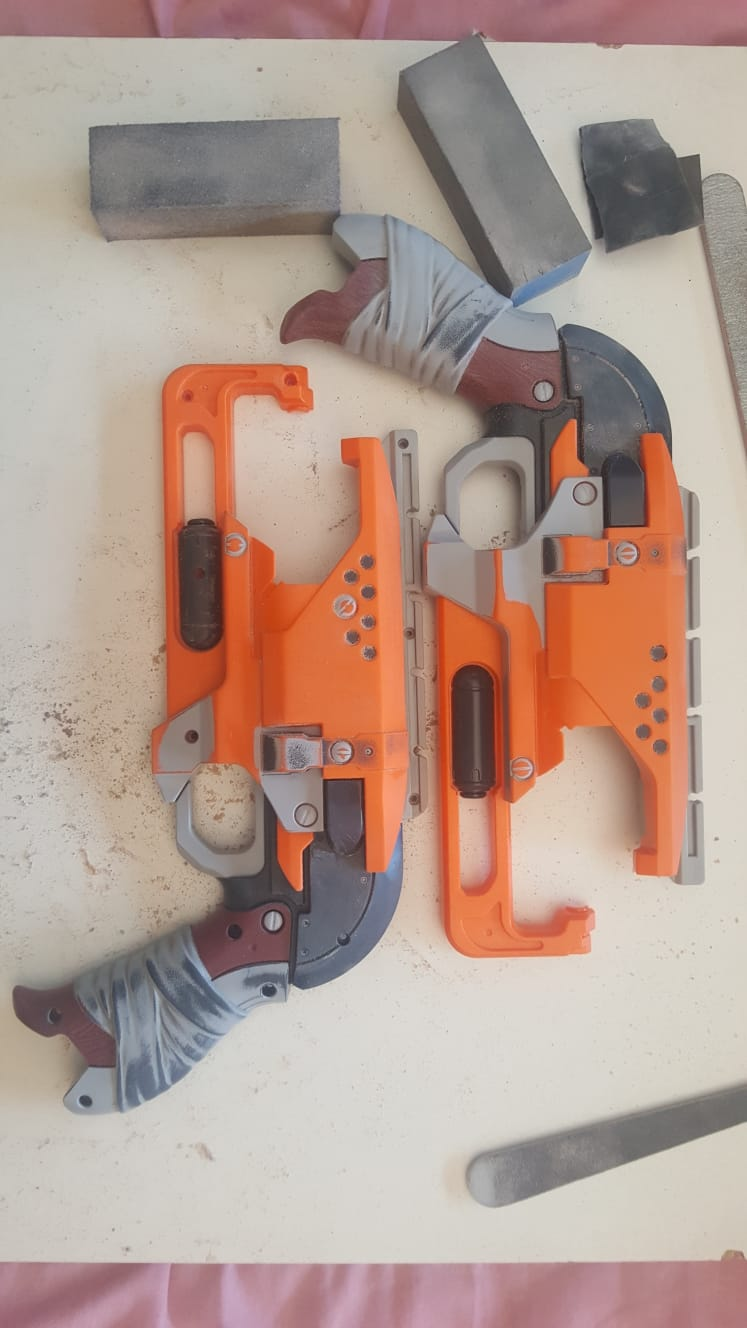 Picture of Hammershot Stripped and Dismantled