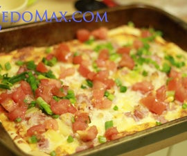 How to Make Hawaiian Homemade Pizza!