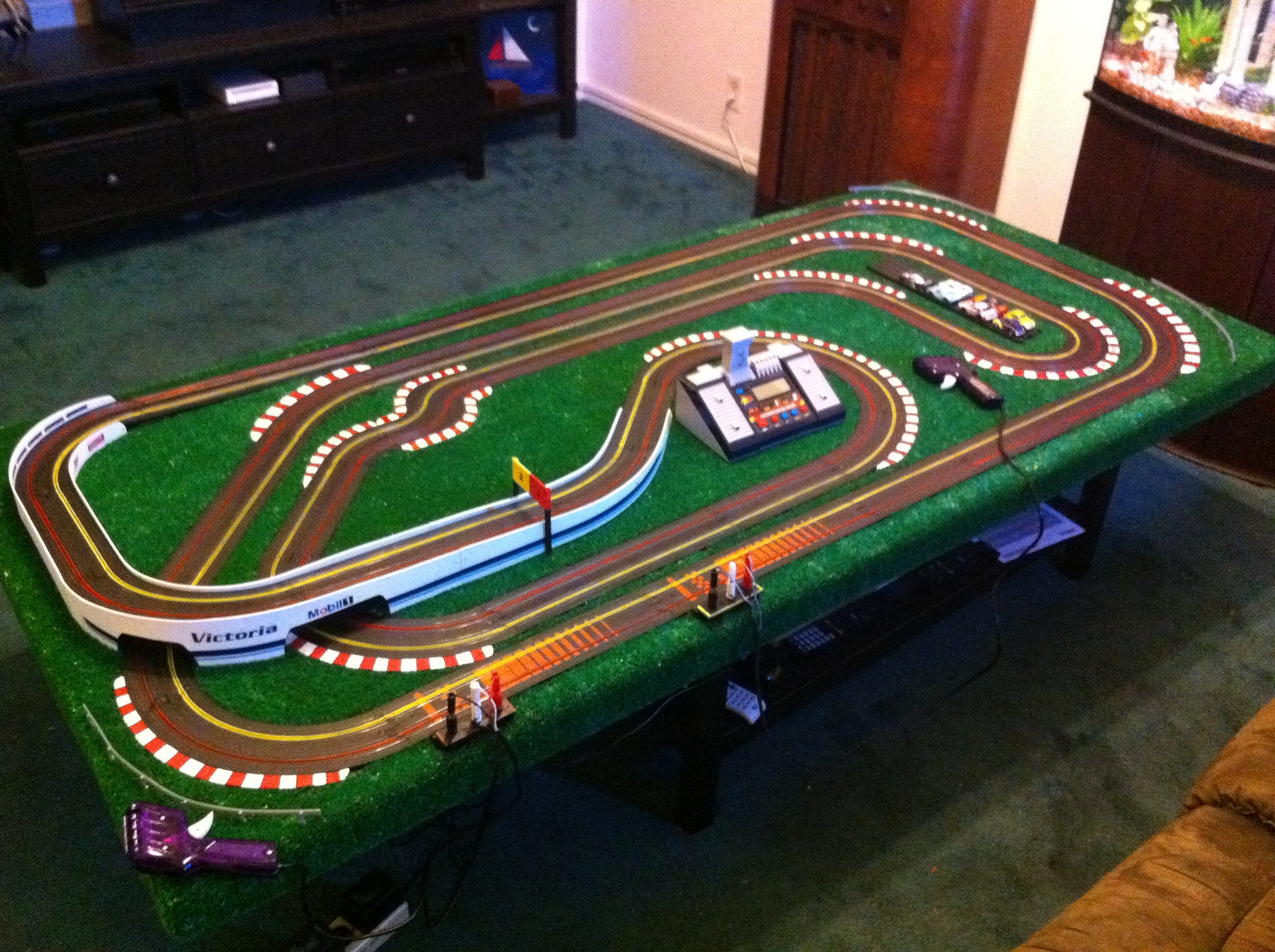 Taking Your Ho Scale Slot Car Track To The Next Level Cheaply 11 Steps Wiring Raceway