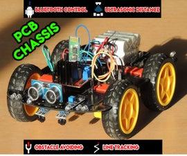 4WD智能机器人汽车