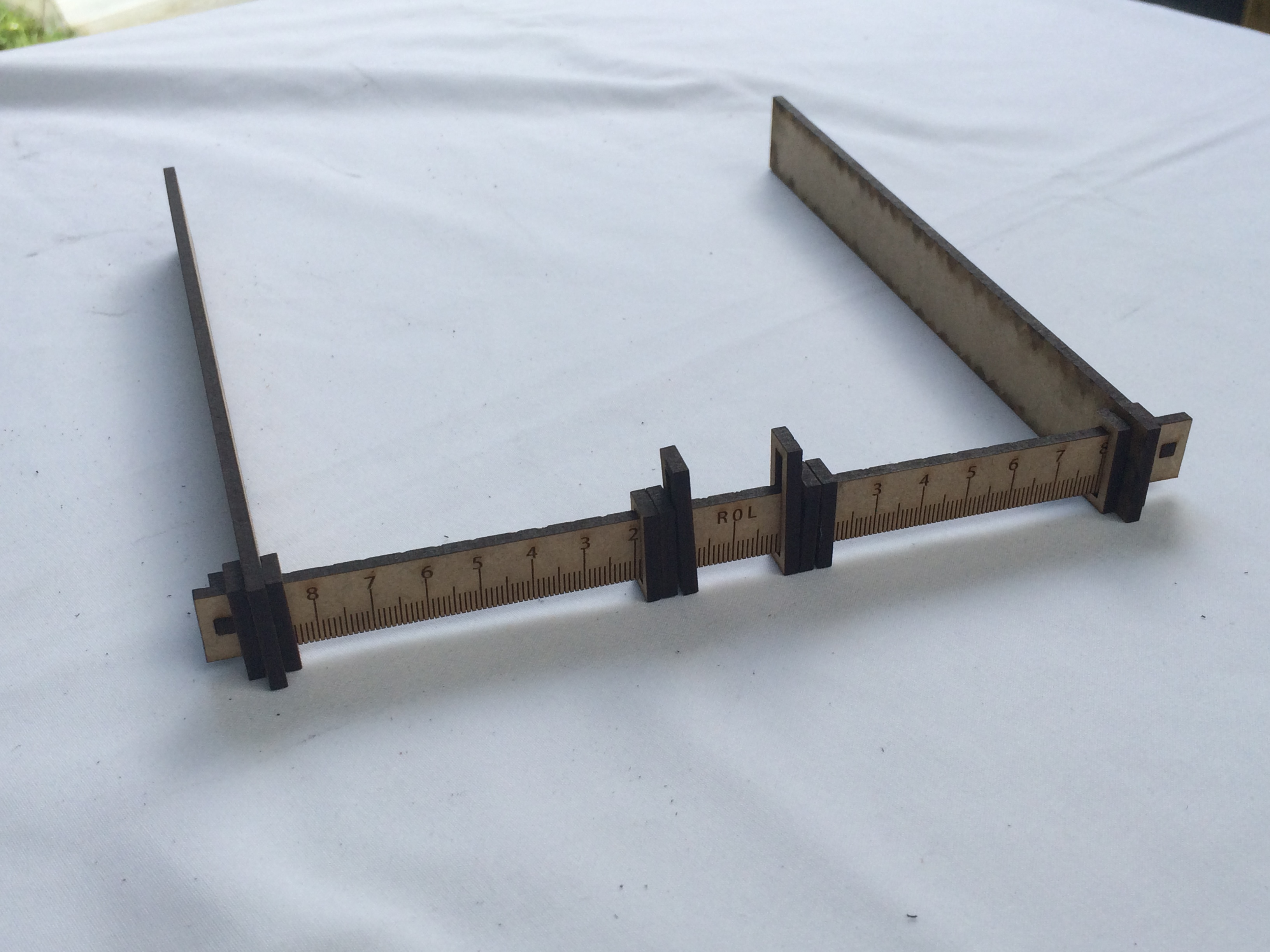 Picture of Assembly of Measuring Tool
