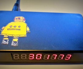 Instructables Hit Counter (ESP8266-01)