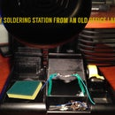 DIY Soldering Station from an Old Office Lamp