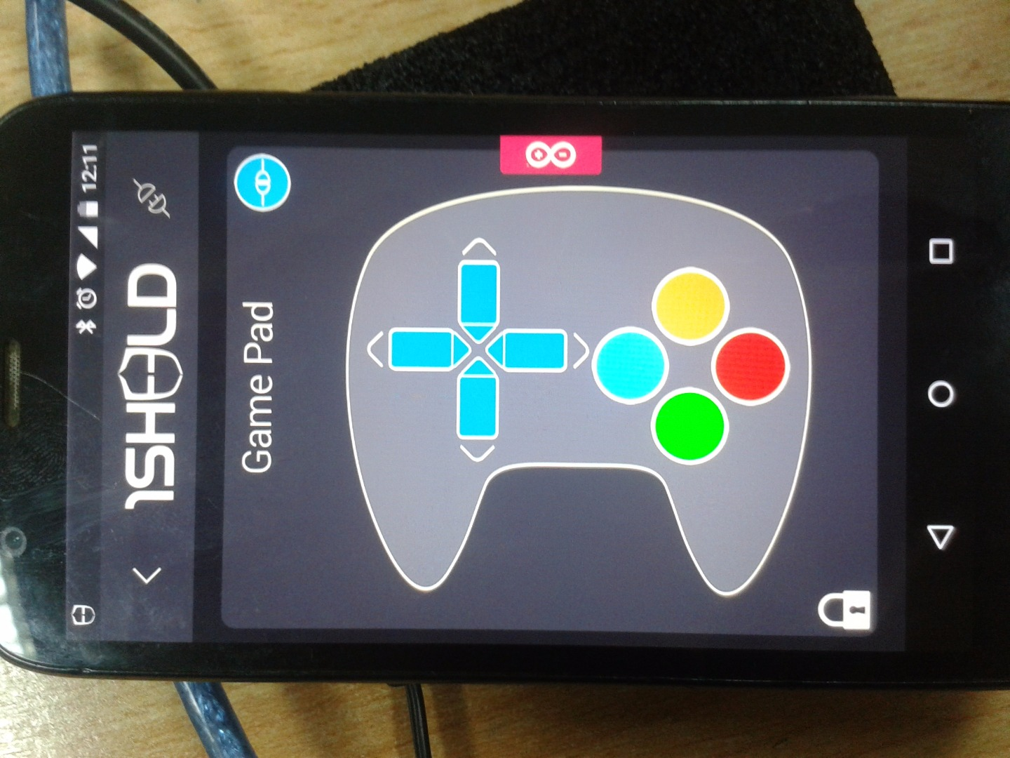 Picture of Step 3: Programming and Using 1Sheeld App