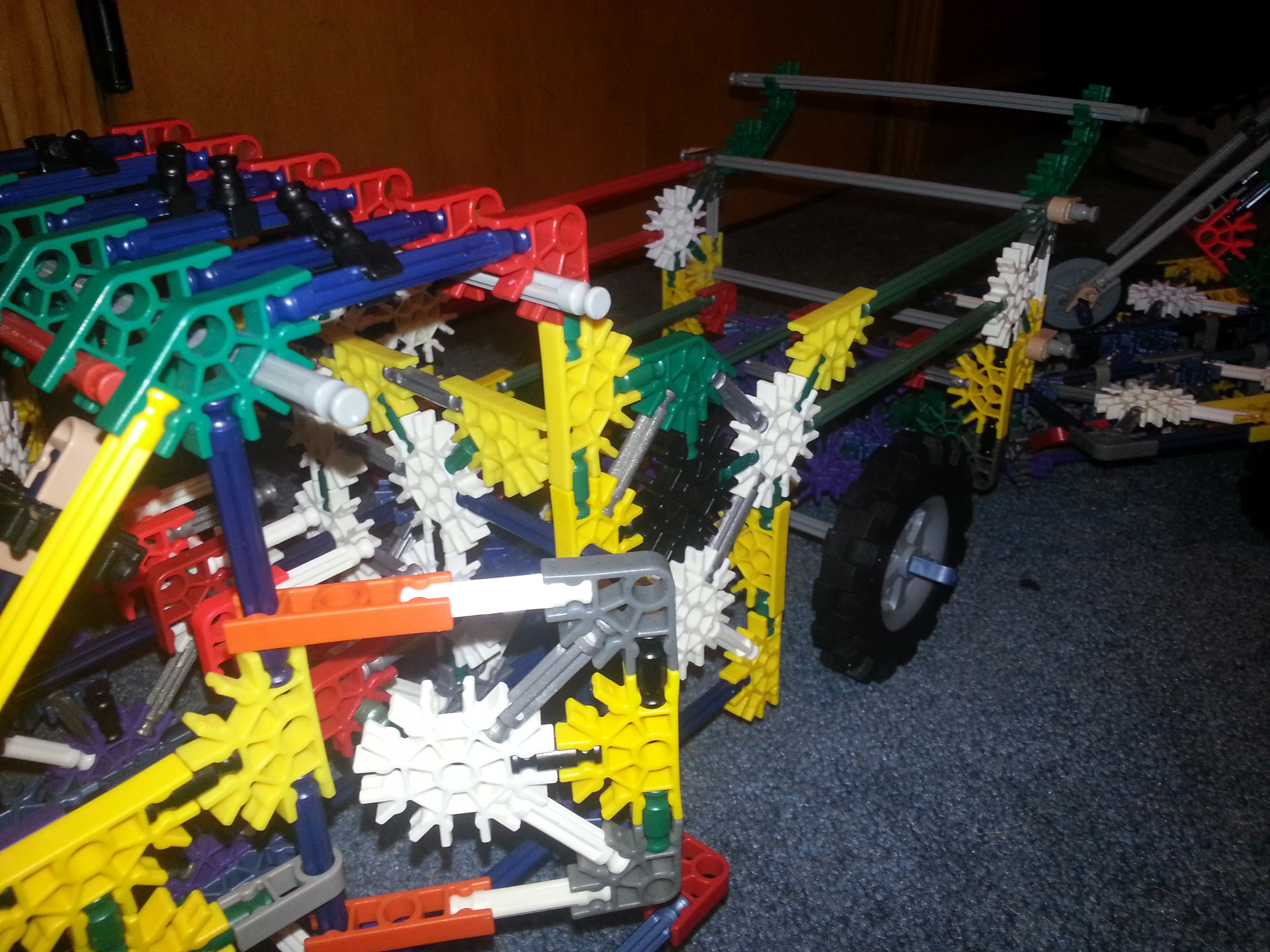 Picture of Knex Truck and Trailer