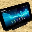 Dock com Áudio Para Tablet