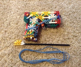 The Headhunter a Knex Handgun UPDATE WITH INSTRUCTIONS!!