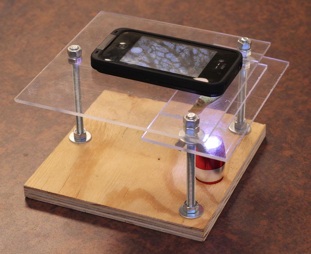 Picture of ¡Cómo Convertir Tu Smartphone En Un Microscopio Digital Por Menos De $10!