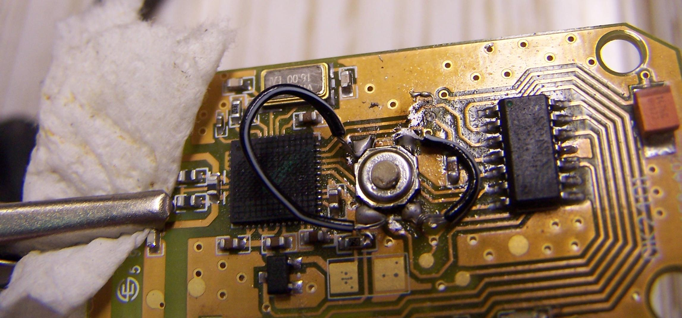 Picture of Solder the Jumper Wires