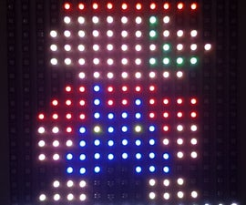 LED Panel Controlled With Arduino