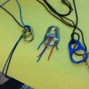 Funky necklace idea :)