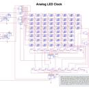 LED Analog clock