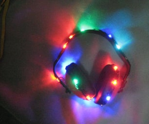 LED HEARING PROTECTION EARMUFFS