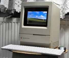 PC in a Macintosh Classic Case