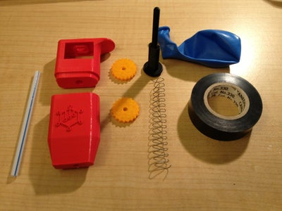 Get Everything Together and 3D Print the Pipette Components
