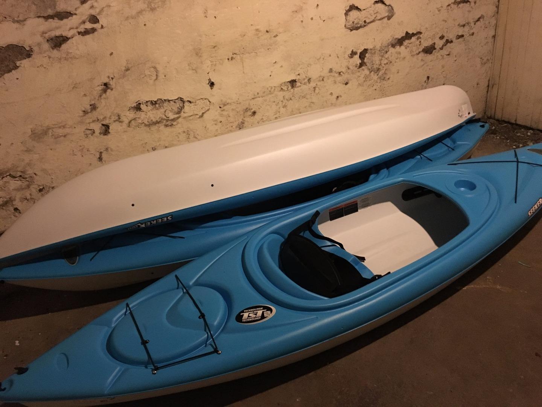 Picture of PVC Basement Kayak Rack