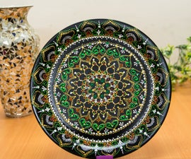 Turn Your Old Plates to Decorative Plates