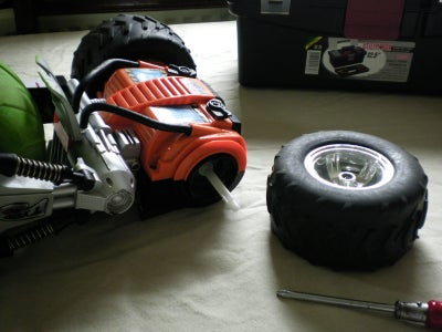 : Removing the Drive Wheels
