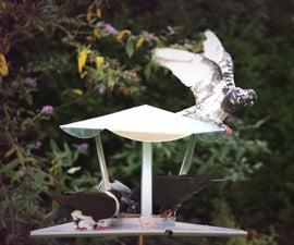 Indestructable   Metal Pigeon/Birdfeeder