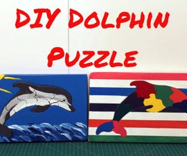 How to Make / DIY Dolphin Puzzles
