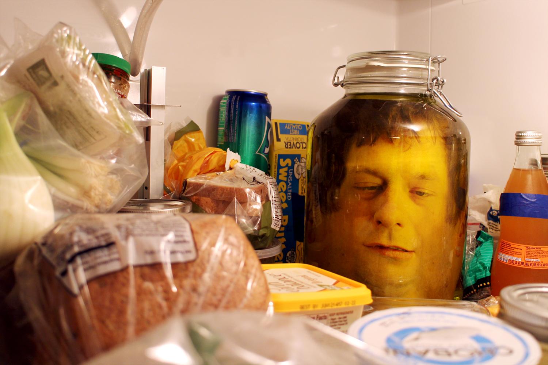 Bilderesultat for face in a jar halloween