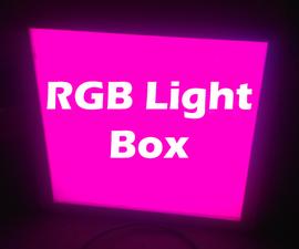 RGB Light Box
