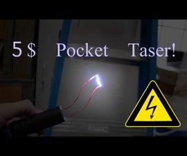 Easy 5$ Pocket Taser