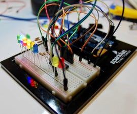 LED Waterfall With a Shift Register and Arduino