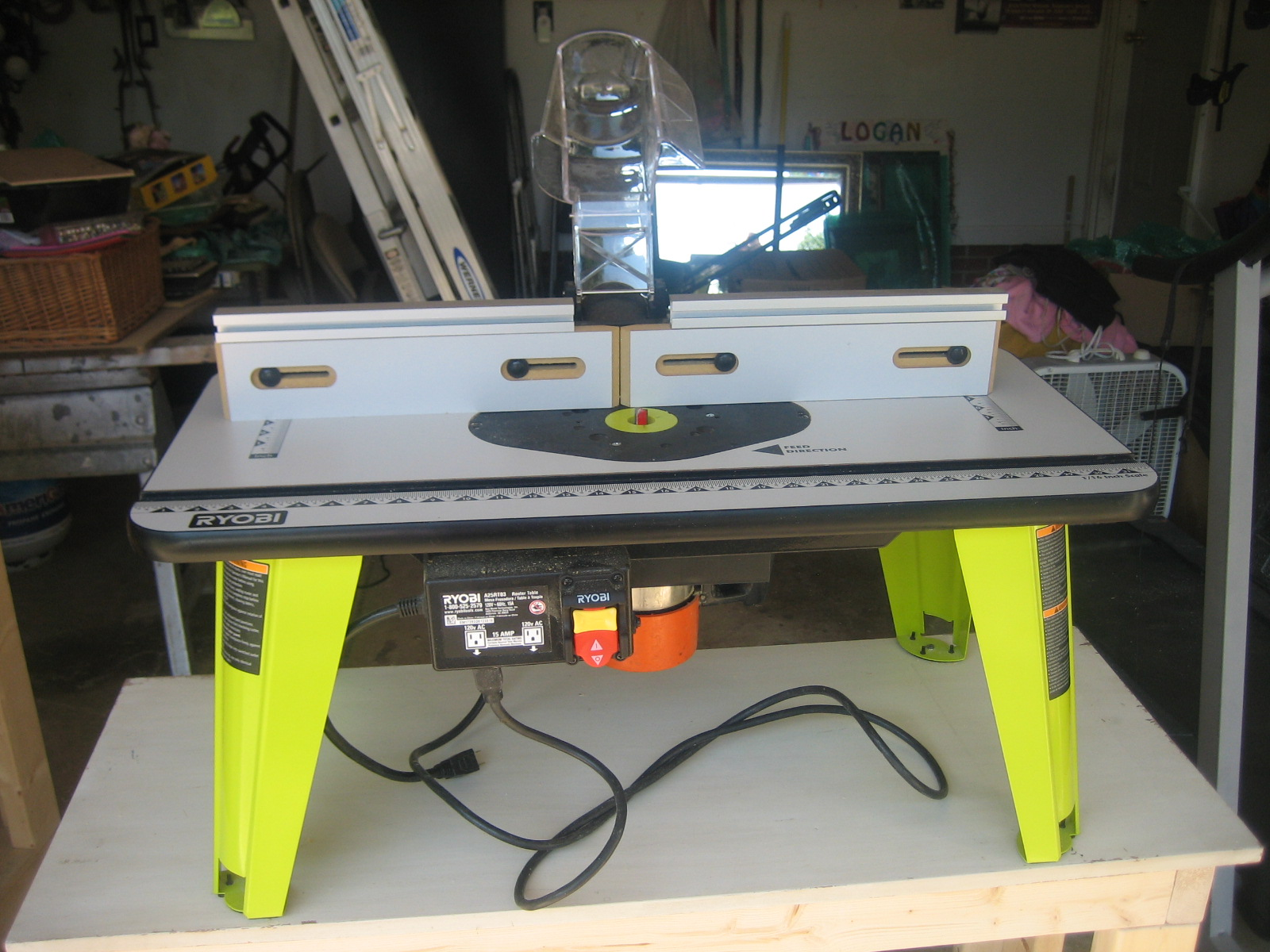 Picture of THE ROUTER TABLE