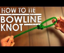 How to Tie a Bowline Knot (Around Something)