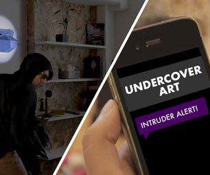 Undercover Art: a LittleBits Home Security Project