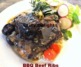Slowcooker BBQ Beef Ribs