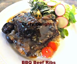 Slowcooker BBQ Beef Ribs