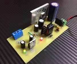 Make a 3.3 V & 5v Power Supply @ 1.5 Amp.