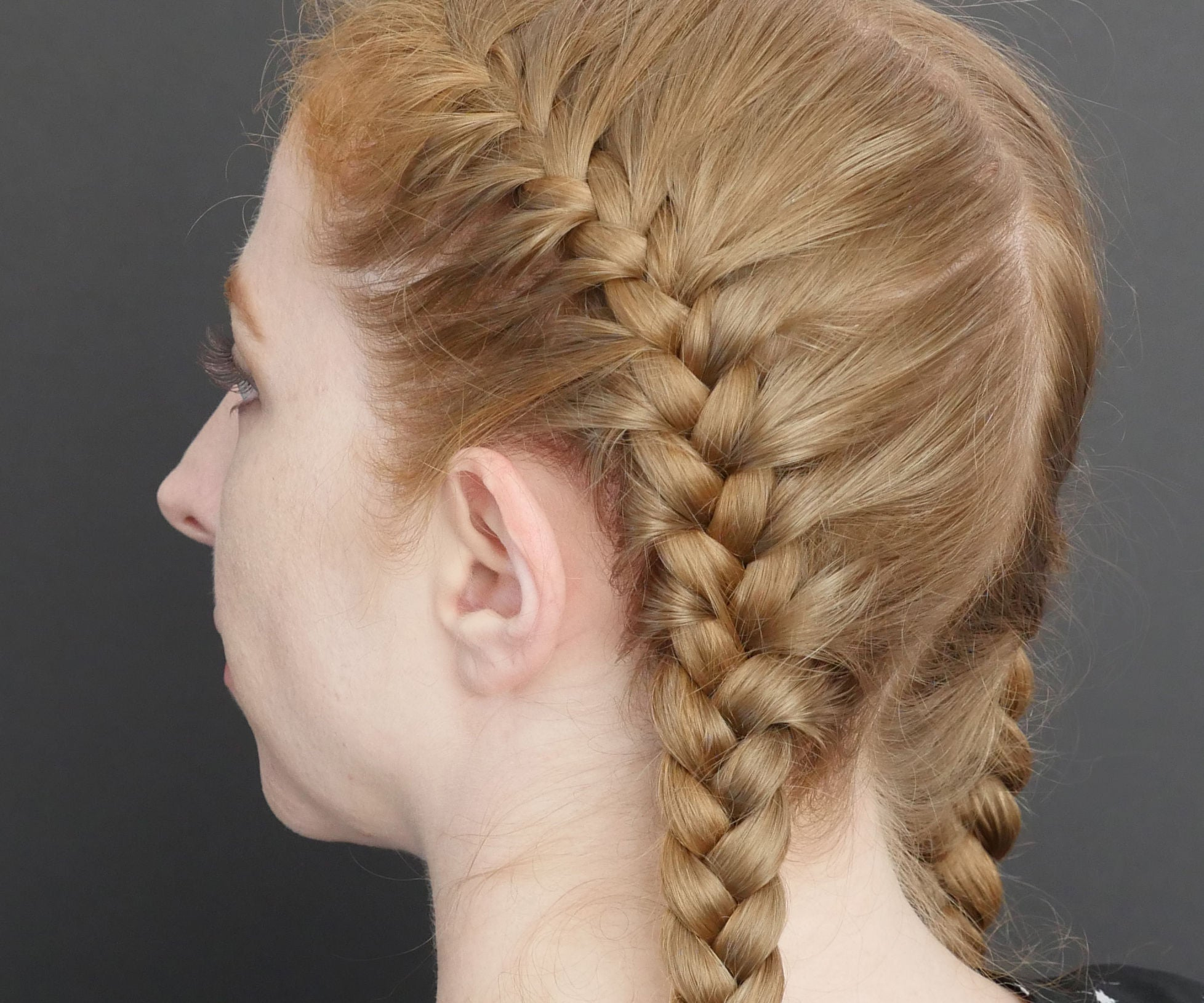 French Braid Basics 4 Steps With Pictures