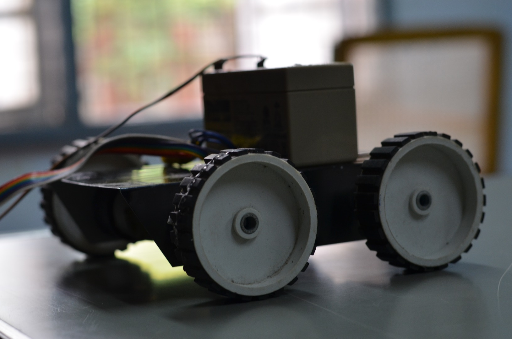 Wired Controlled Manual Robot: 8 Steps
