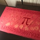 Pi Cotton Tablecloth