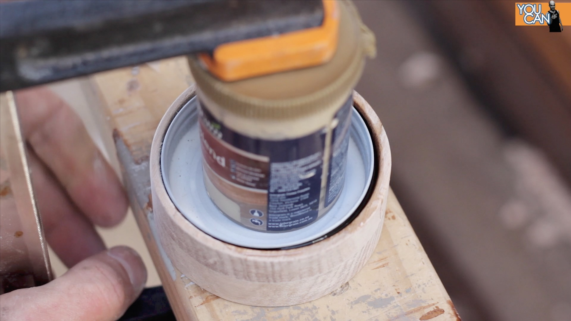 Picture of Glue in the Jar Lid