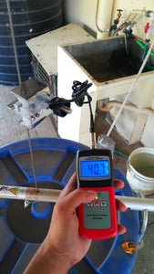 Measuring Tension on a Steel Cable.