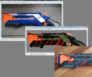 Nerf Paint: Mock-up and Realization