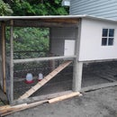 homemade chicken coop