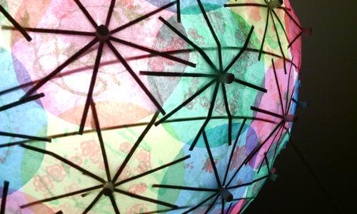 Cocktail Parasol Light Shade