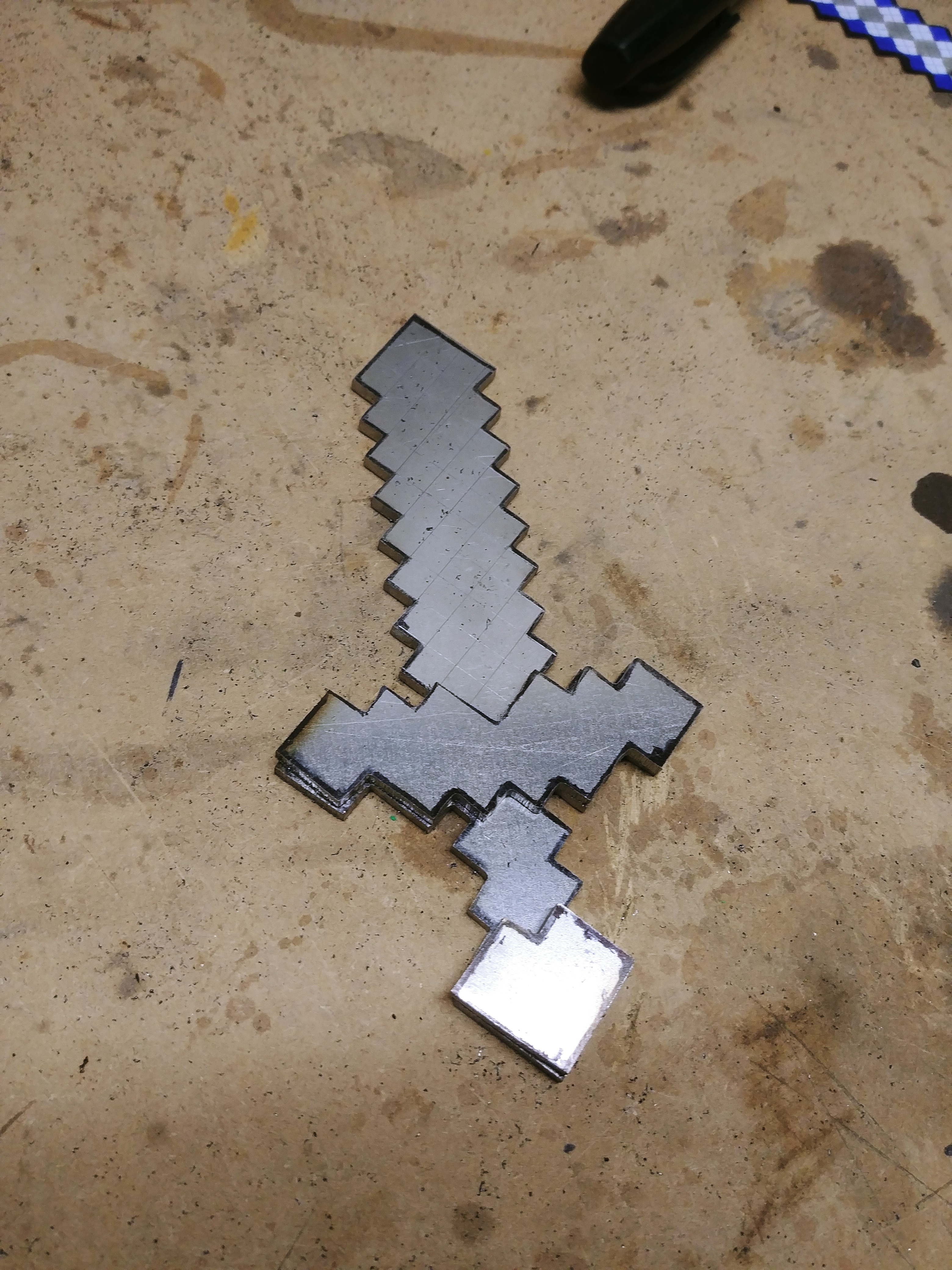 Picture of Making the Cross Guard and Pommel