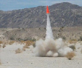 How to make a sugar rocket powered traffic cone!