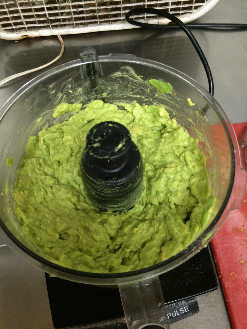 Picture of Pulsing the Avocado