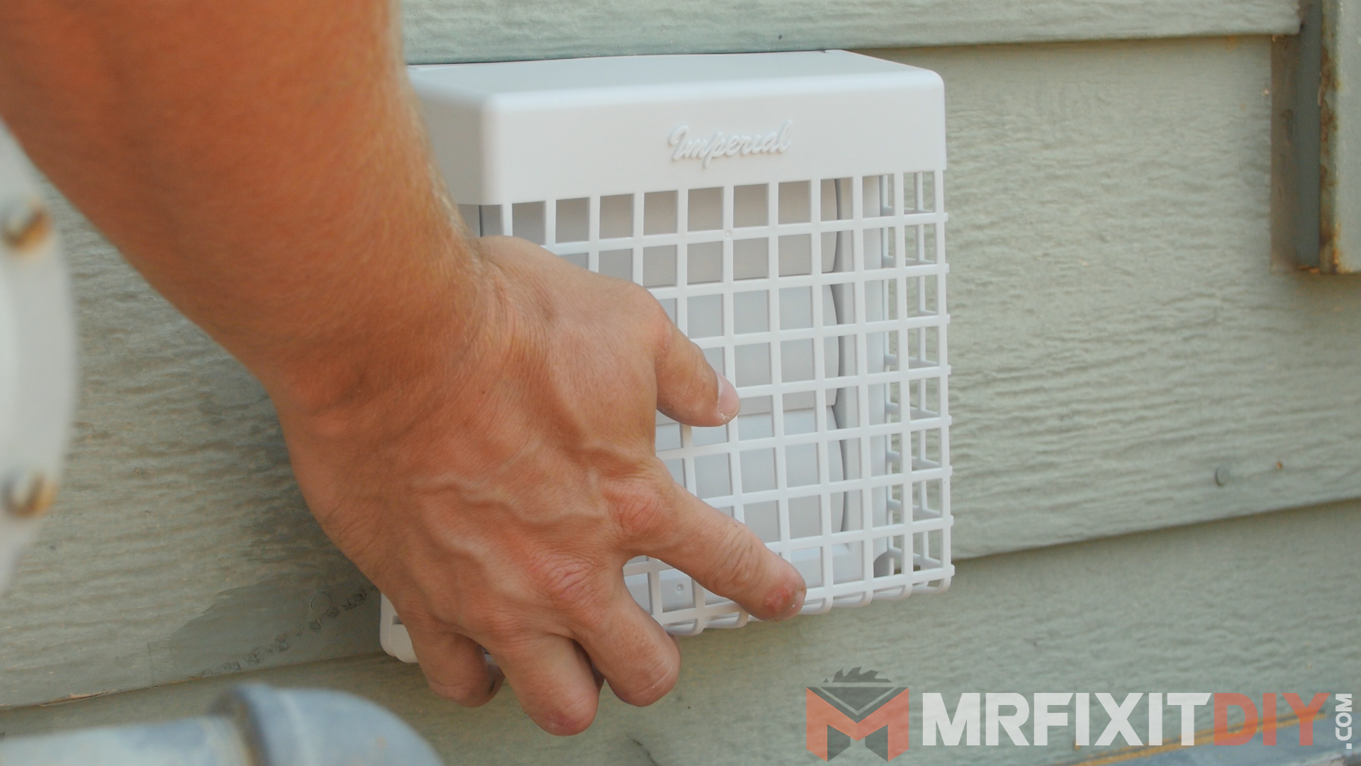 Picture of Attaching the Unit and Creating a Vent